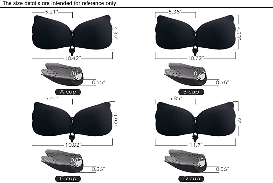 strapless drawstrings push up bra review