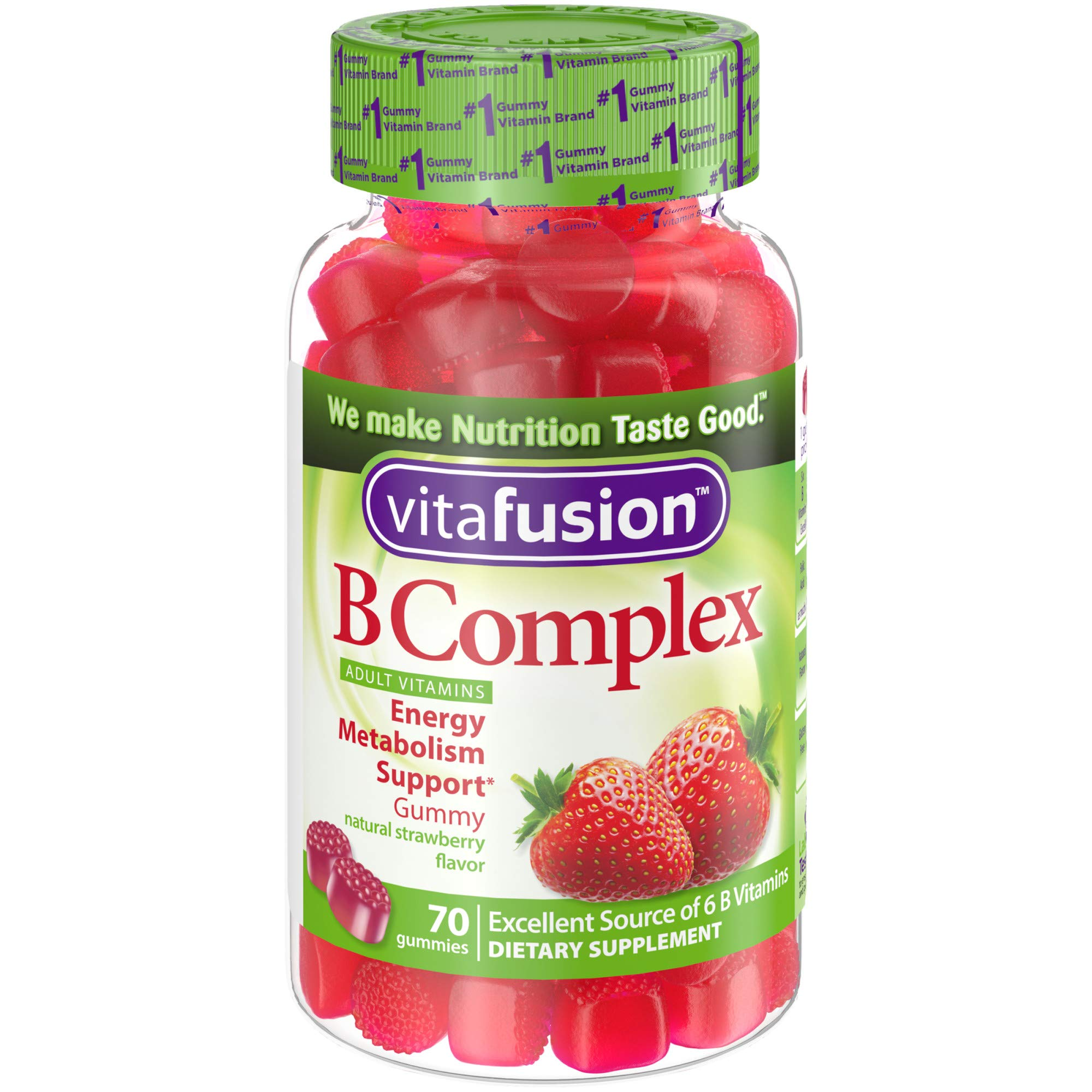 vitafusion b complex gummy vitamins for adults review