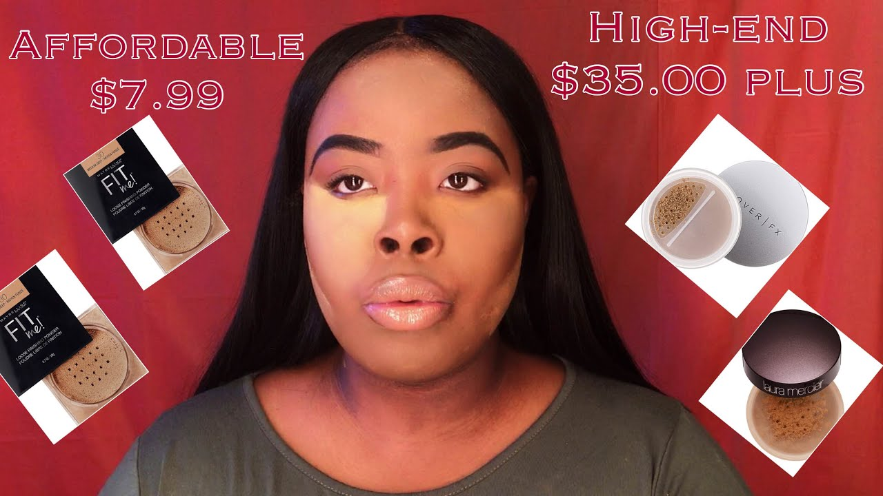 maybelline fit me setting powder review