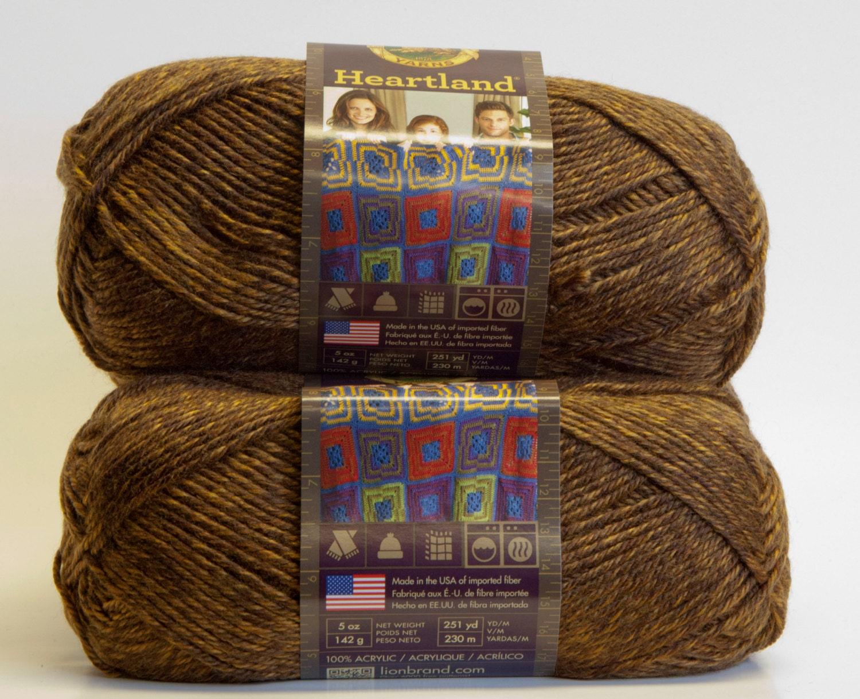 lion brand heartland yarn reviews