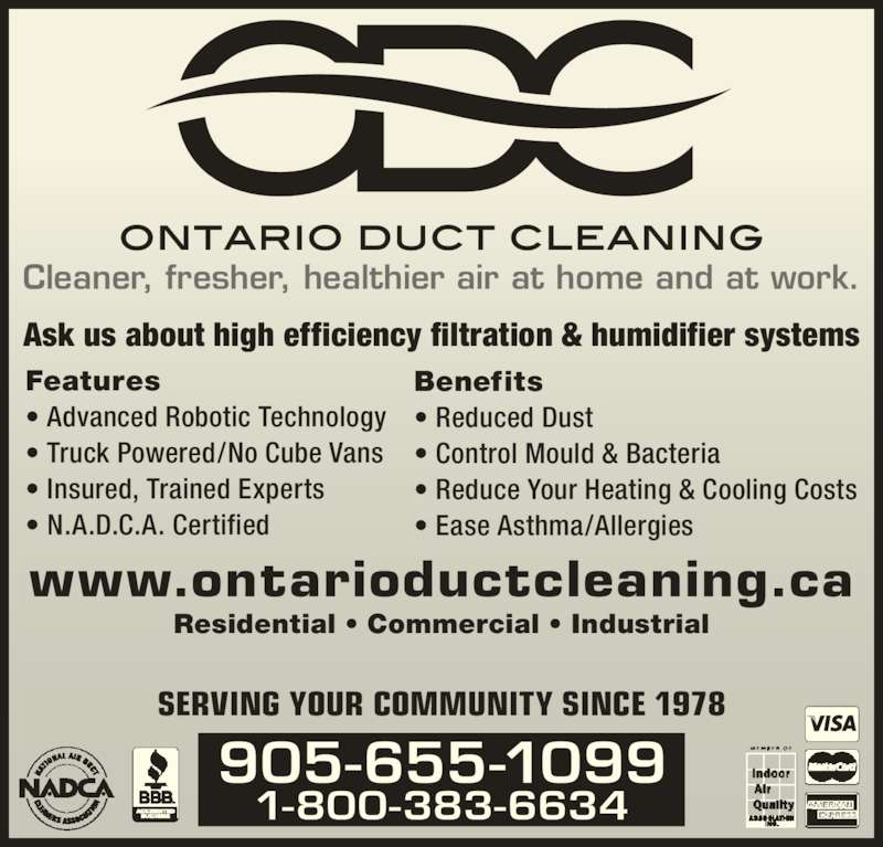 ontario power air duct cleaning reviews