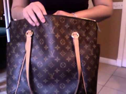 louis vuitton totally mm review