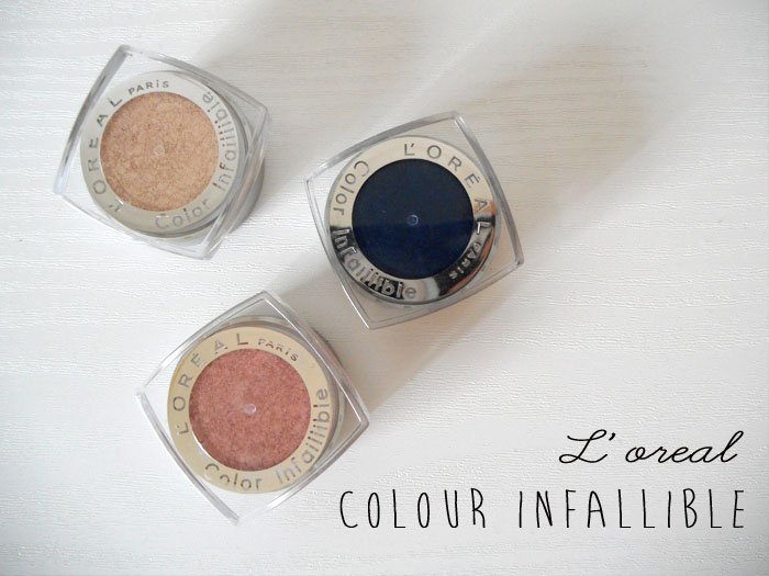 l oreal infallible eyeshadows review