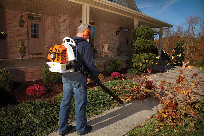 stihl br 350 blower review