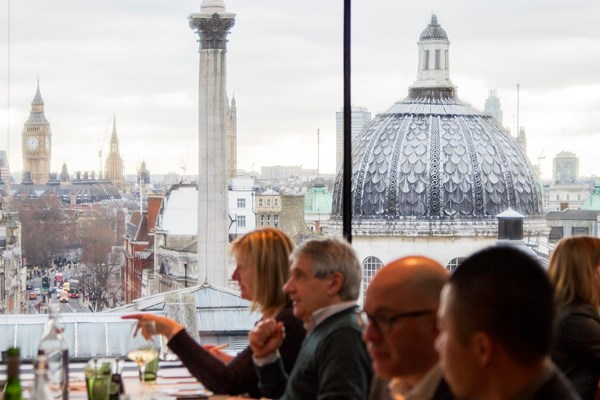 national portrait gallery restaurant review
