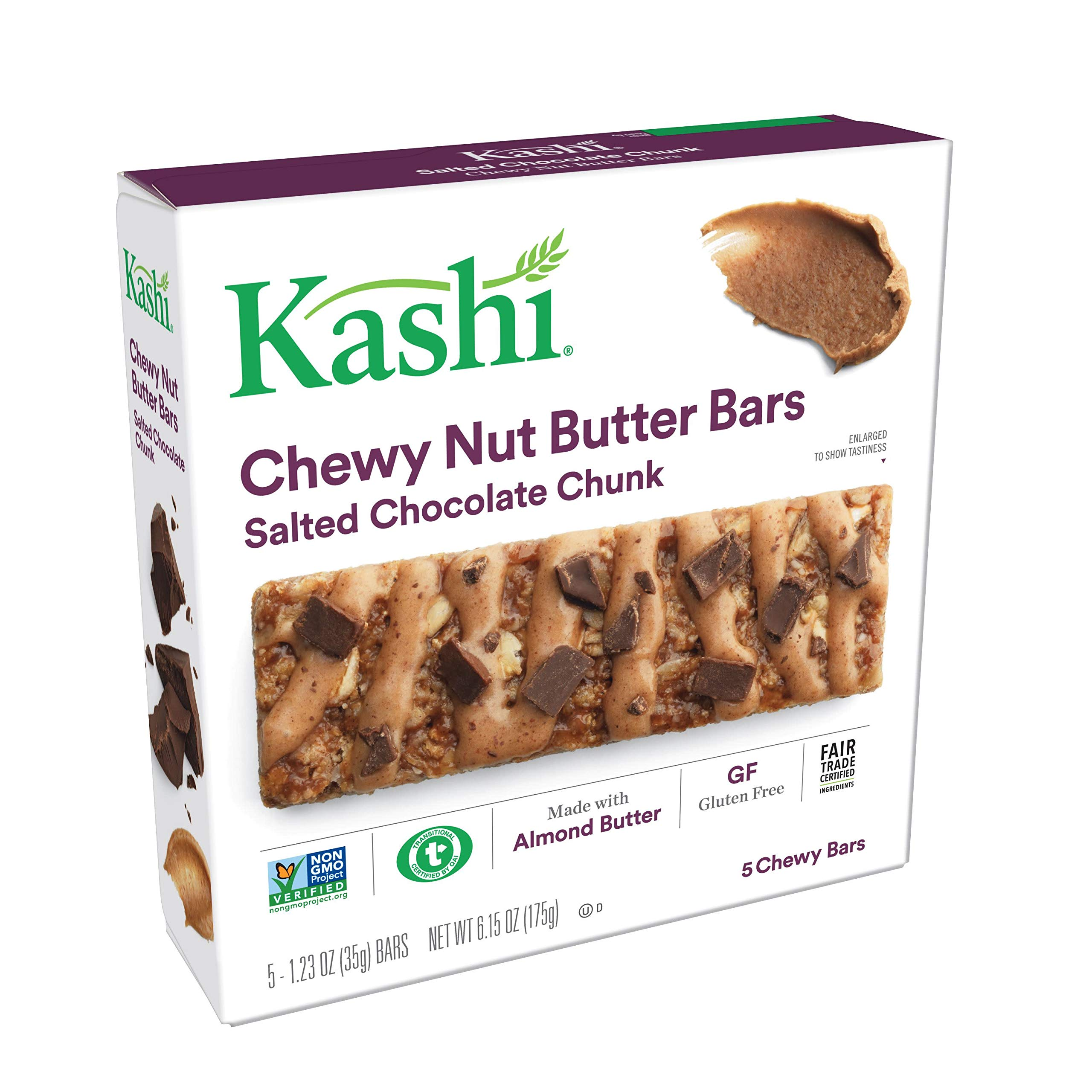 kashi chewy nut butter bars review