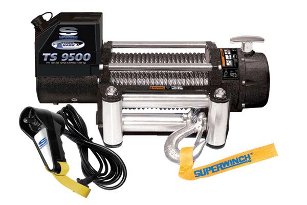 superwinch tiger shark 9500 review