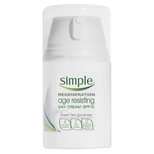 simple age resisting night cream review