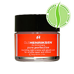 ole henriksen pure perfection night cream reviews