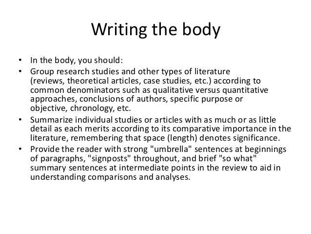purpose of review of related literature