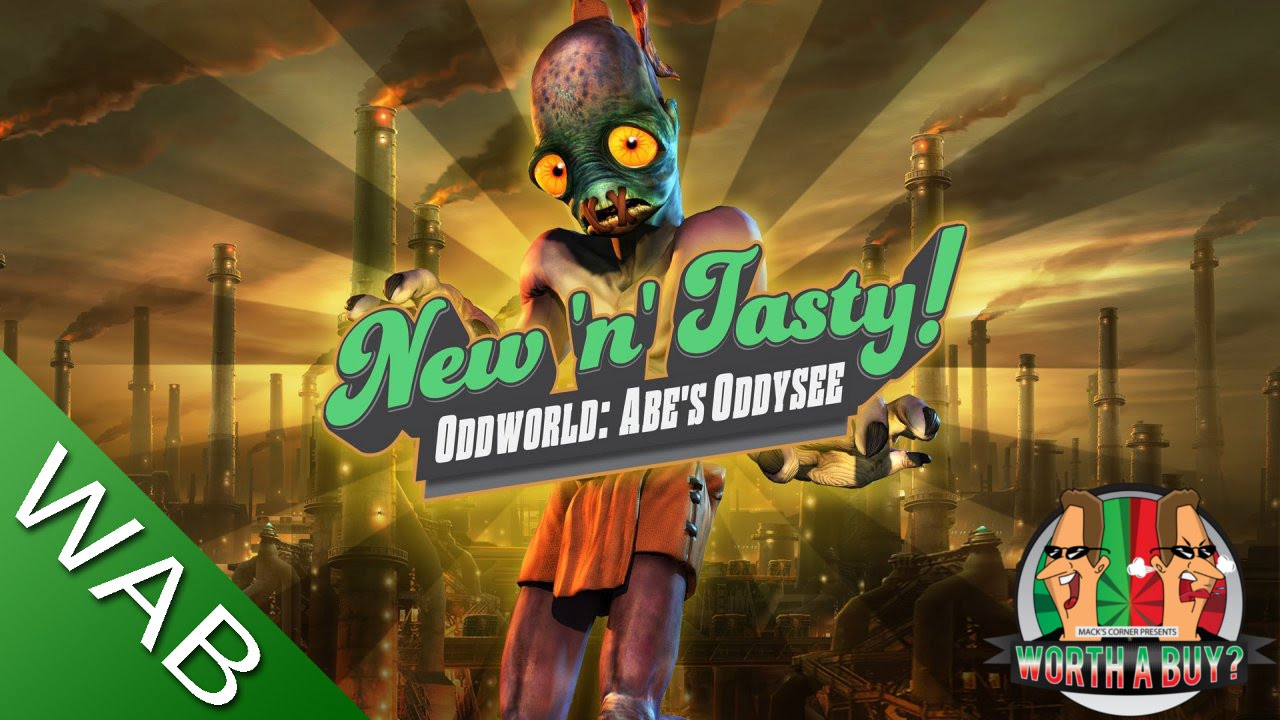 oddworld new n tasty review