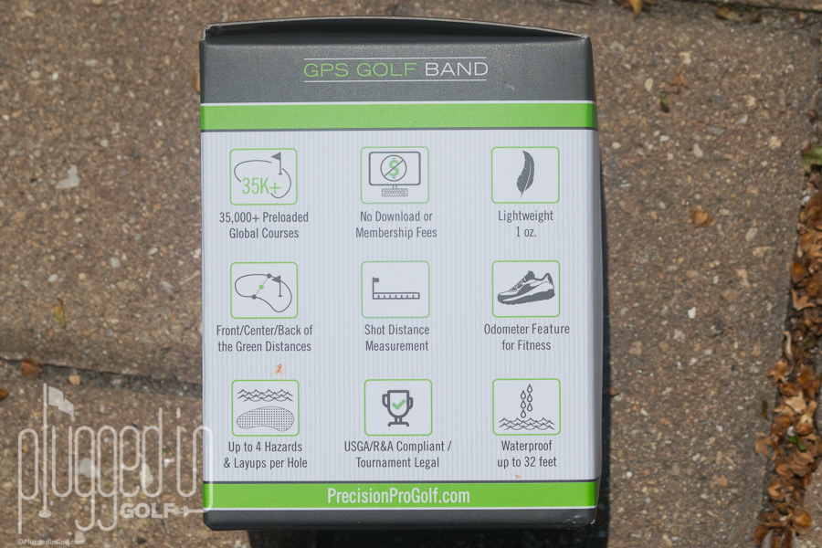 precision pro golf band review