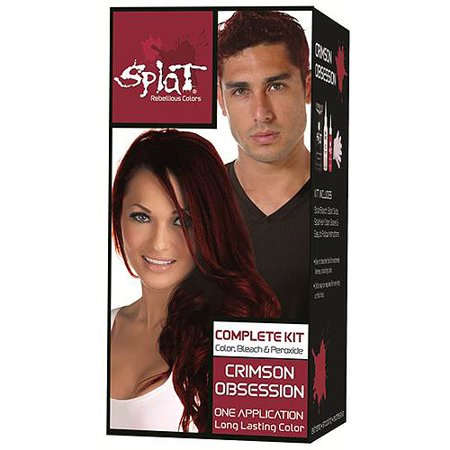 splat semi permanent hair dye review