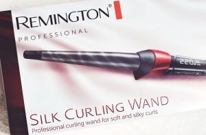 remington silk curling wand review