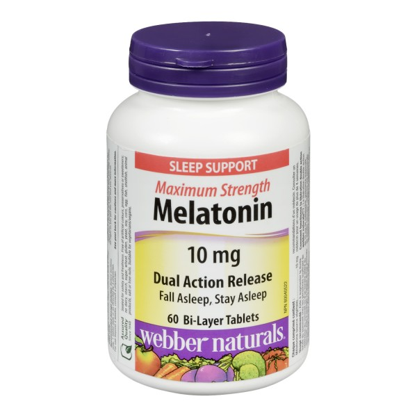 webber naturals melatonin plus review