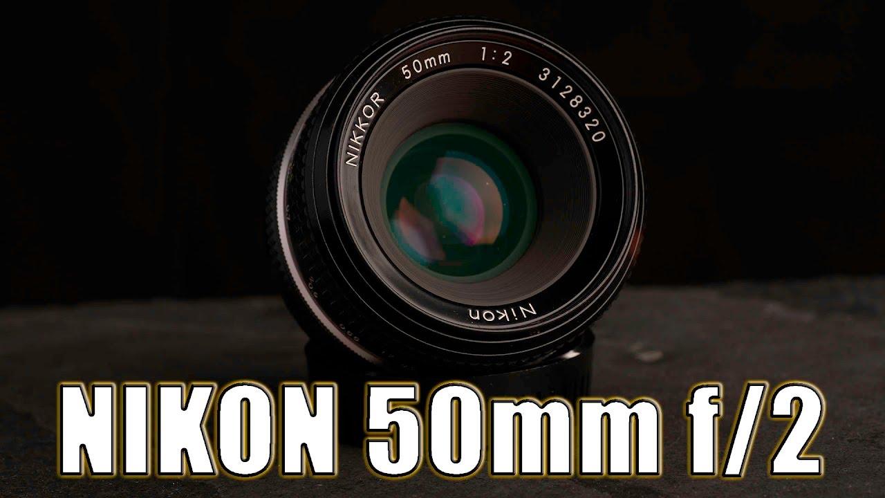 nikon 35mm f2 non ai review