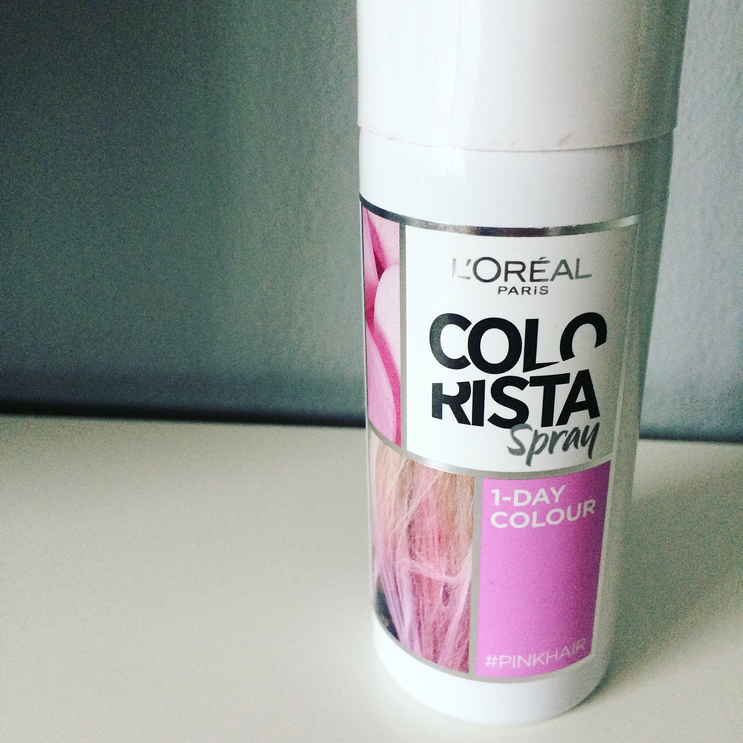 l oreal colorista one day spray review