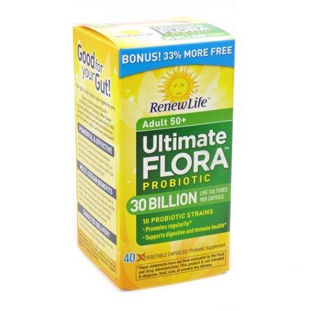 ultimate flora 100 billion probiotic review