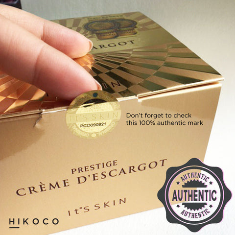 prestige creme d escargot review