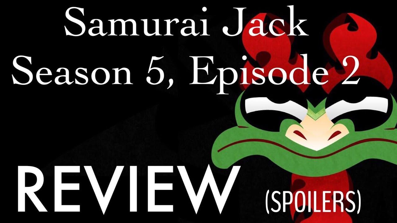 samurai jack season 5 episode 9 review