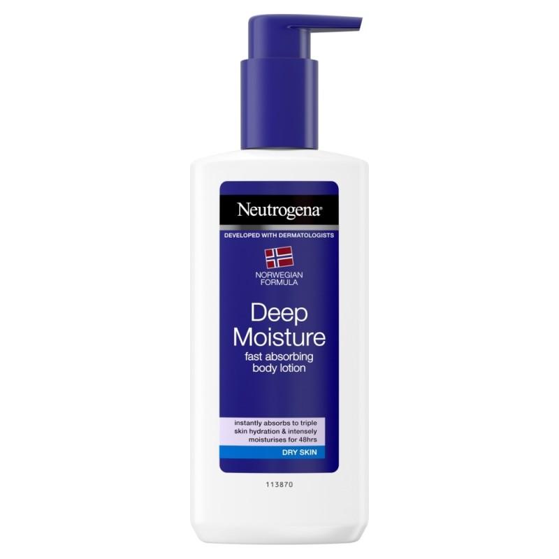 neutrogena deep moisture body lotion review
