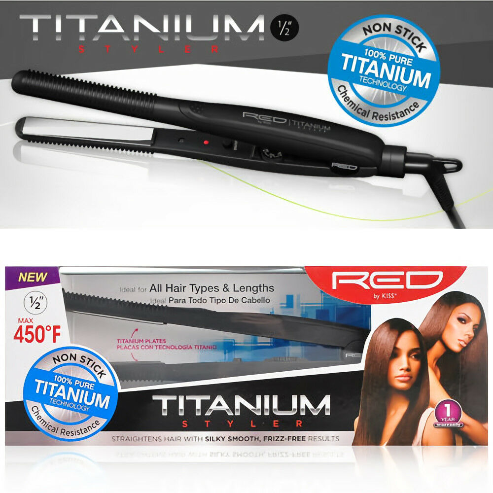 red by kiss titanium flat iron review