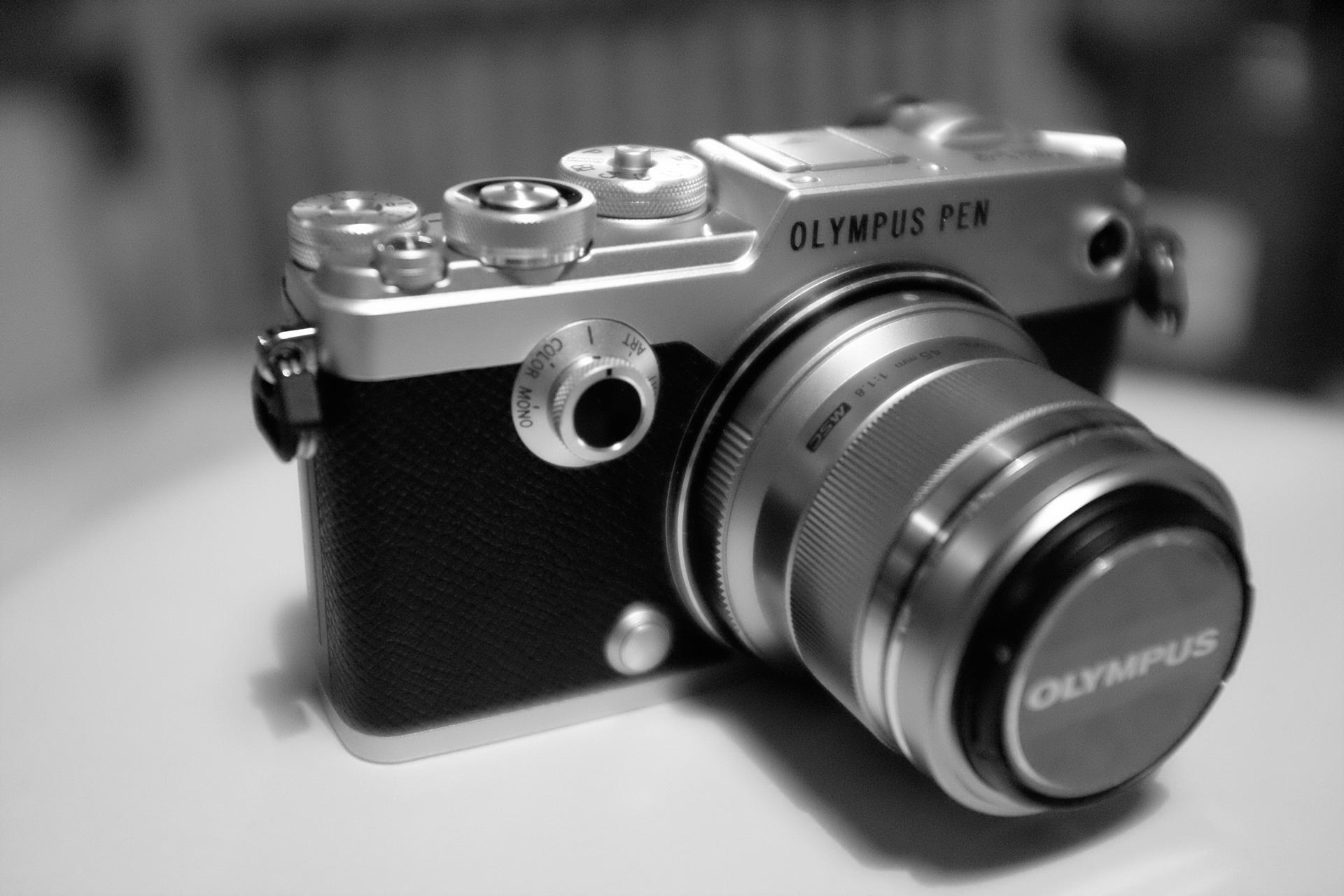 olympus pen f lens review
