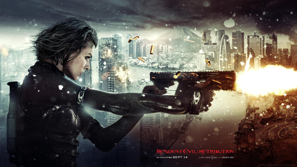 resident evil retribution 3d review