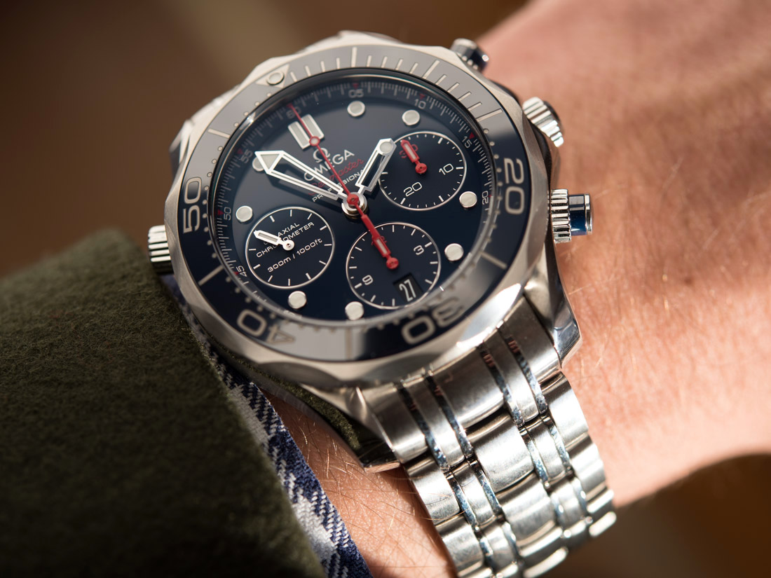omega seamaster professional chronograph review