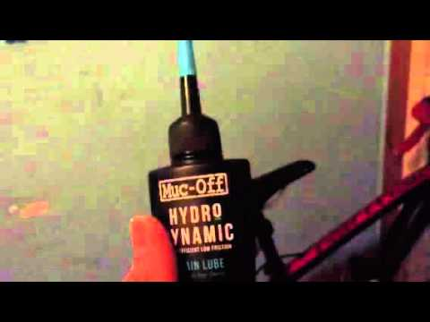 muc off hydrodynamic chain lube review