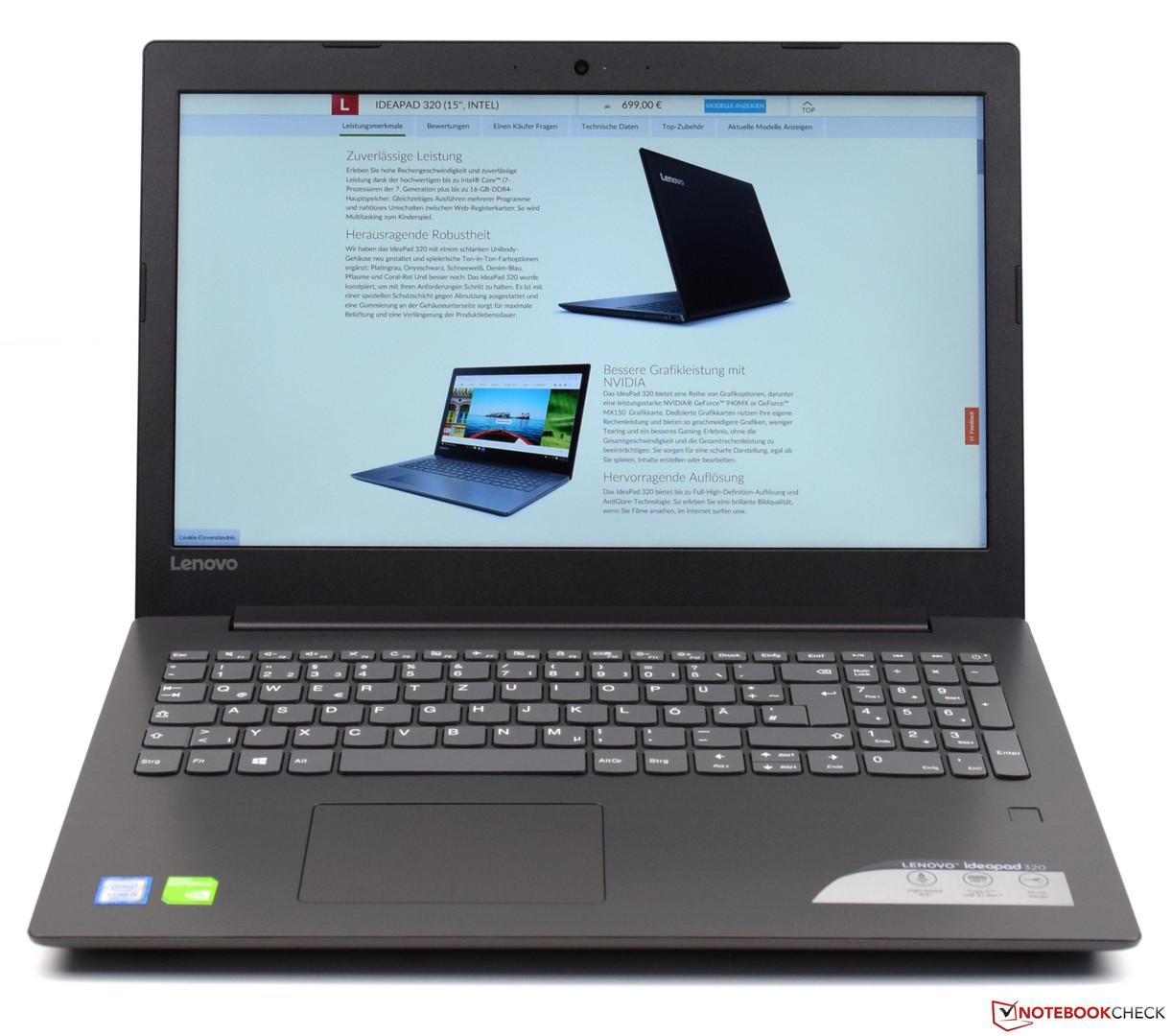 notebook lenovo ideapad 320 review