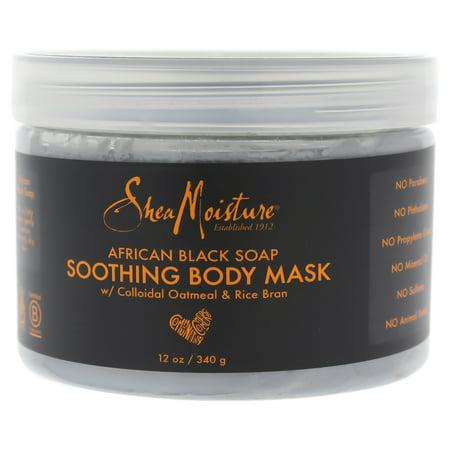 shea moisture black soap mask review