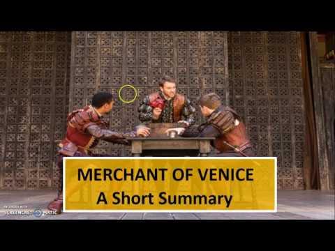 short review of merchant of venice