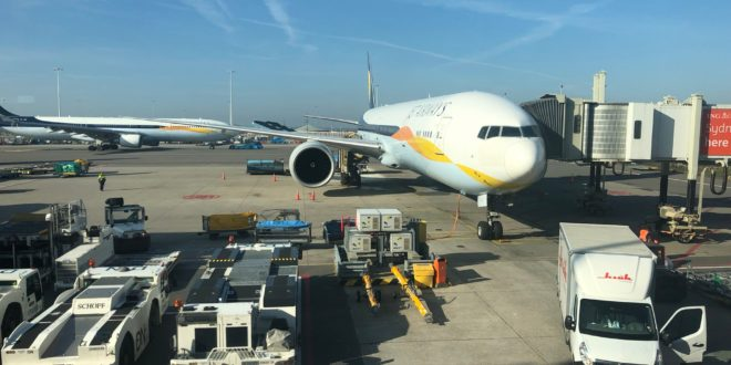 jet airways amsterdam to toronto review