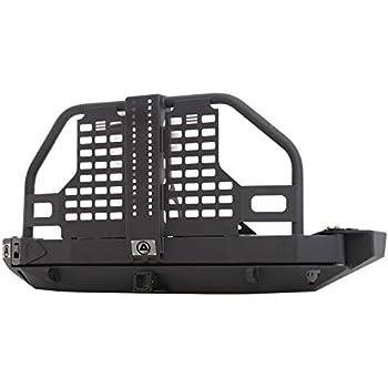 smittybilt xrc rear atlas bumper tire carrier review