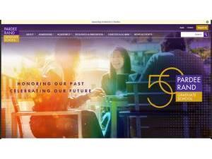 pardee rand graduate school review
