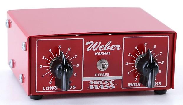 weber micro mass attenuator review