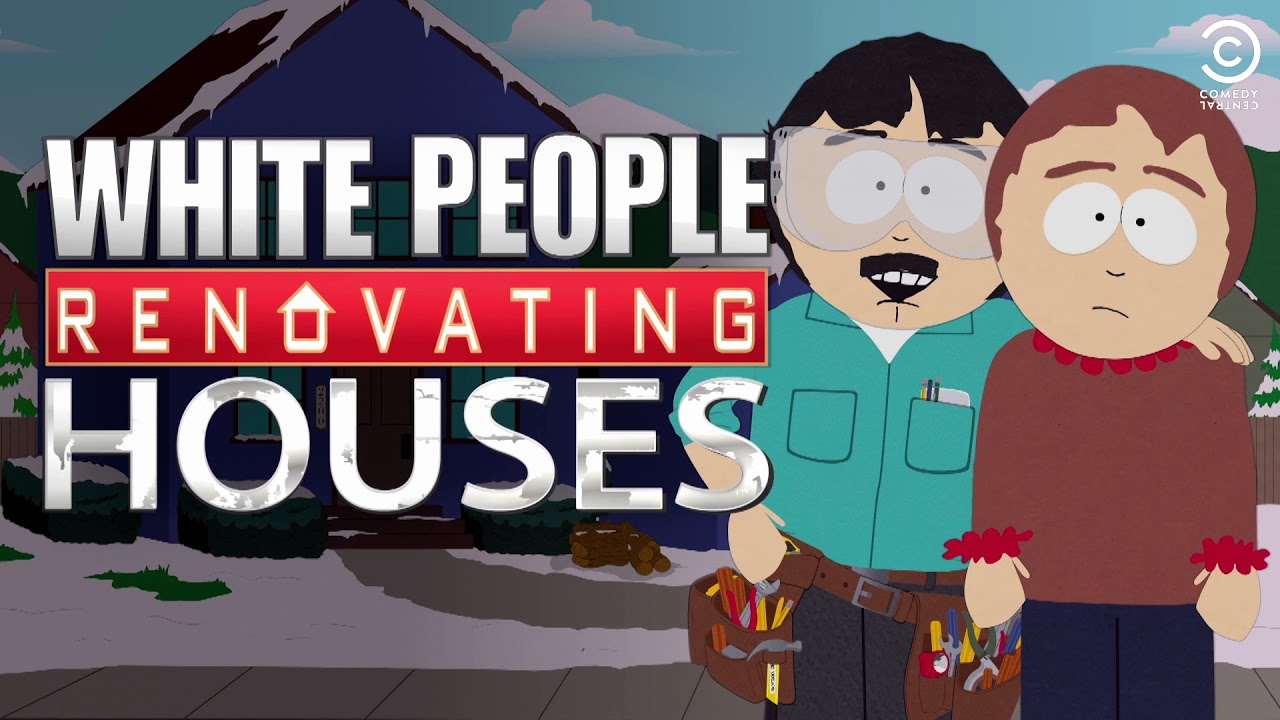 white people renovating houses review
