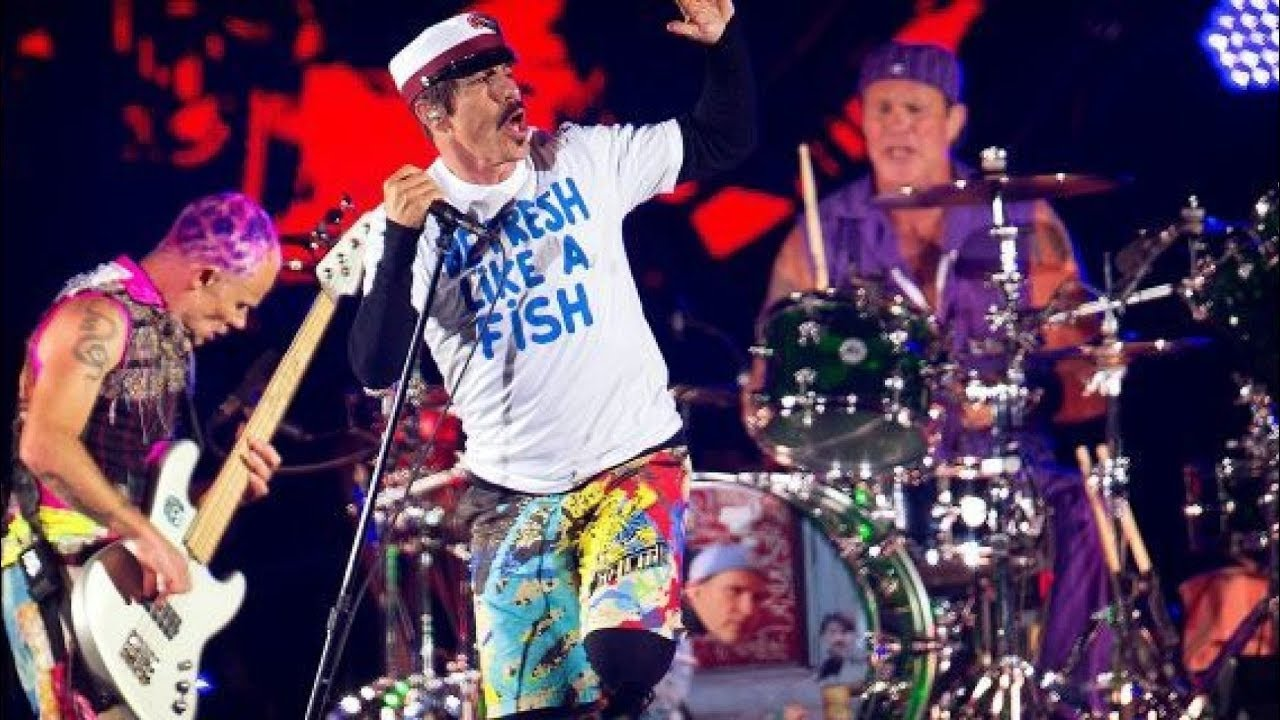 red hot chili peppers concert review