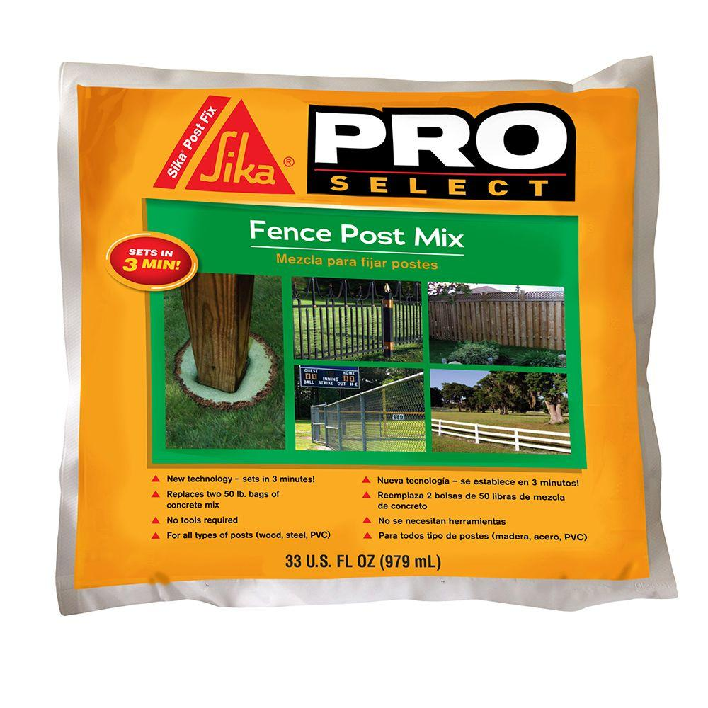 sika fence post foam review