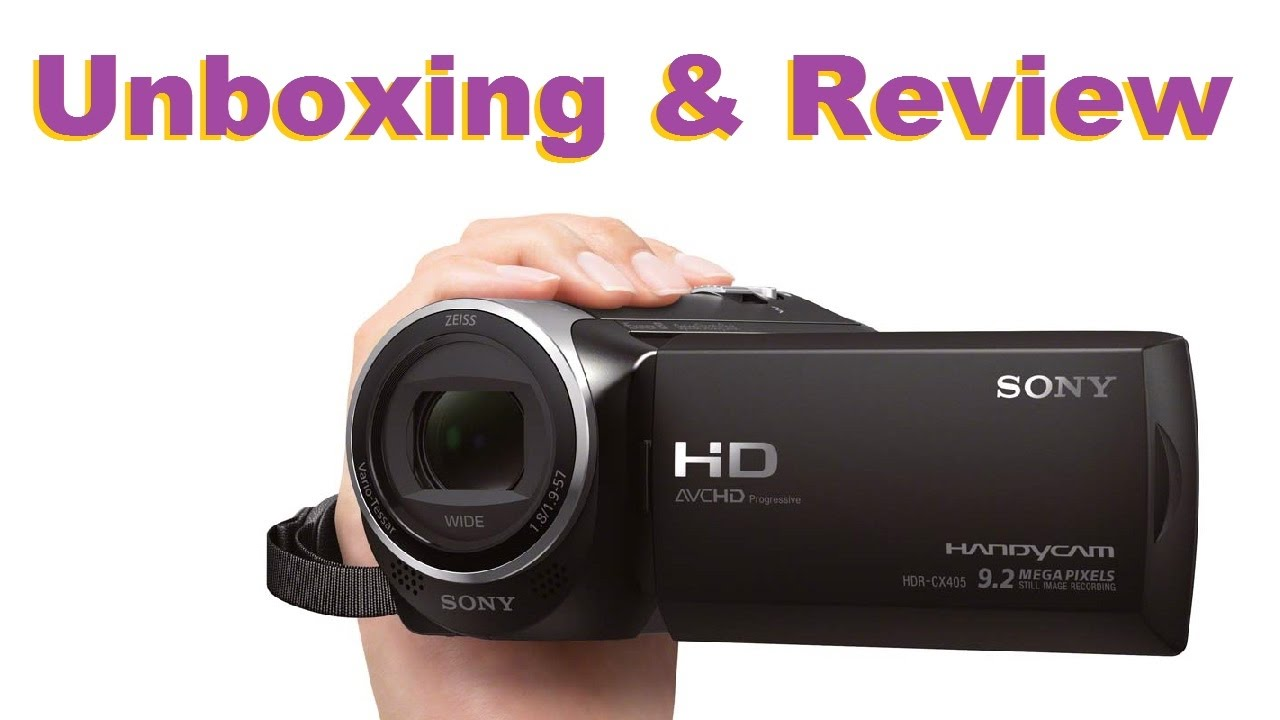 sony hdr cx405 review cnet