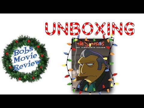 simpsons season 18 dvd review