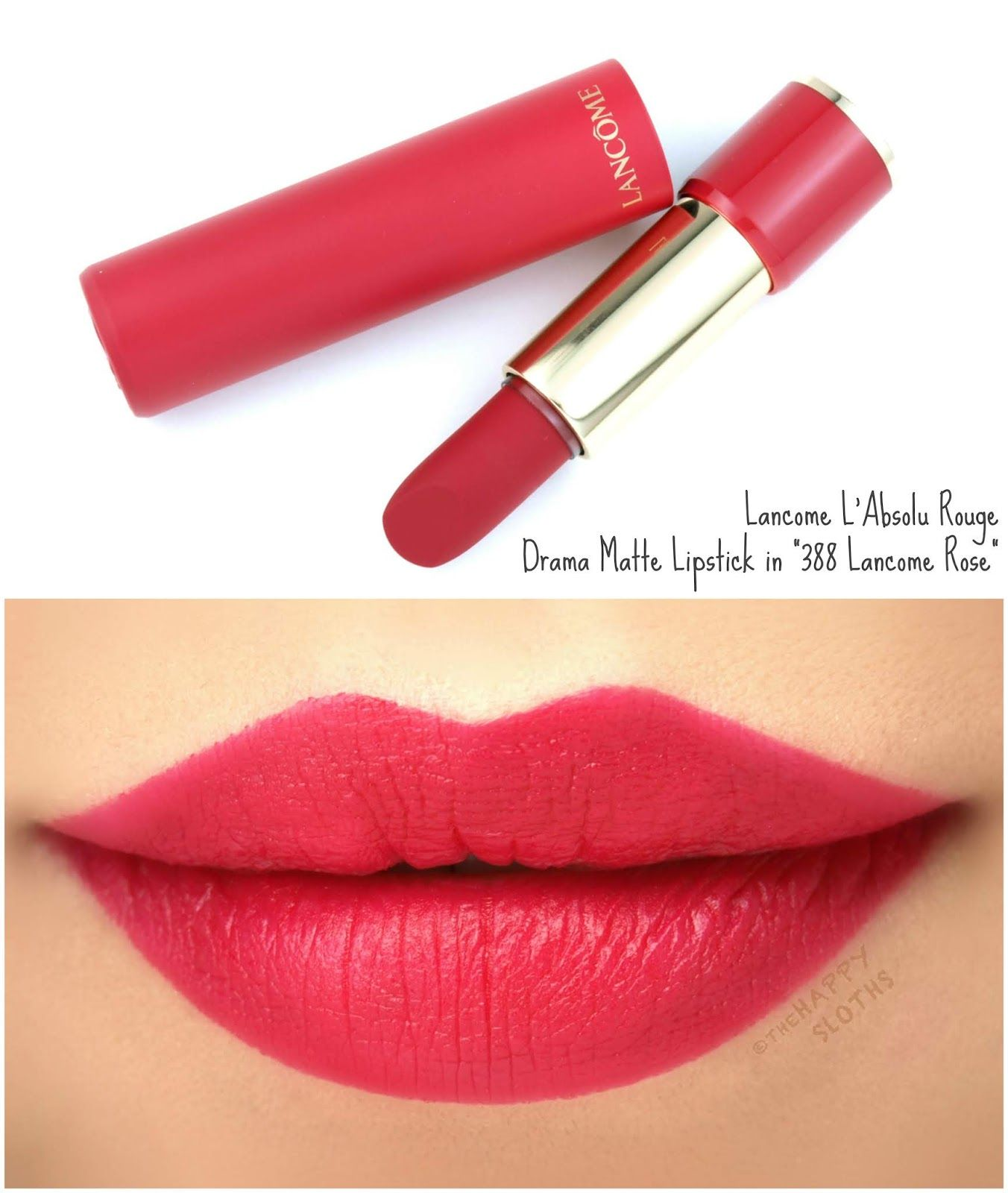 lancome vintage rose lipstick review