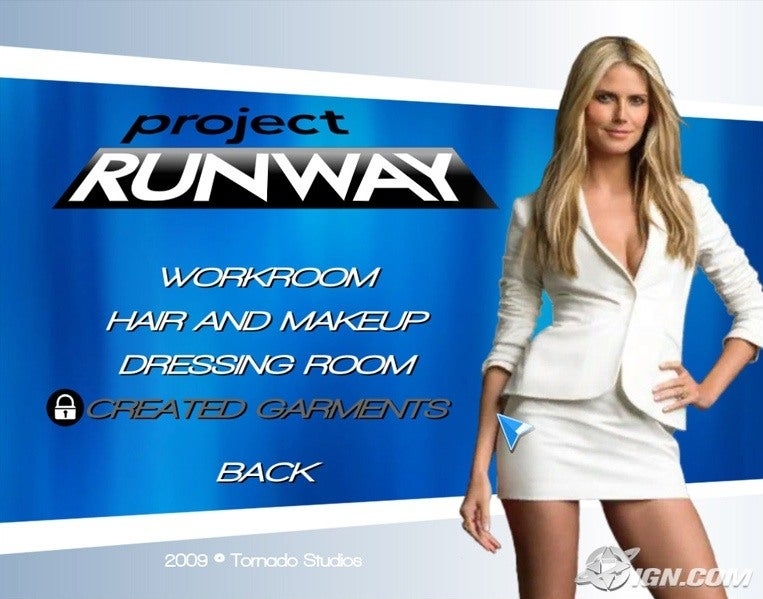 project runway wii game review