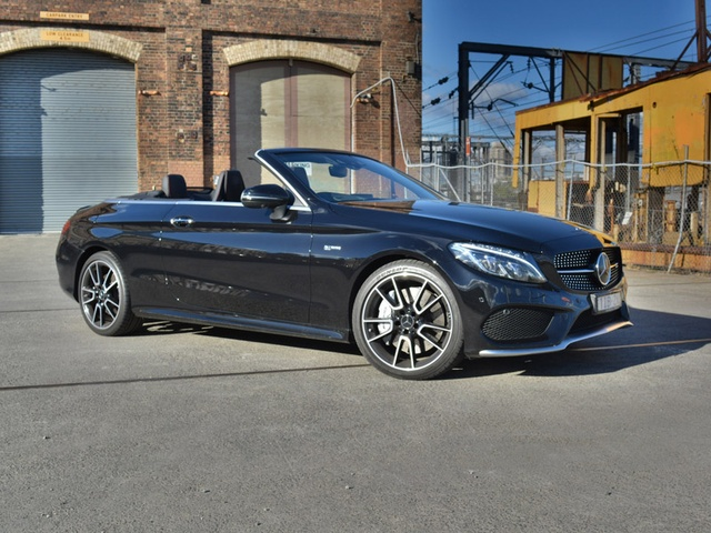 mercedes c43 amg cabriolet review