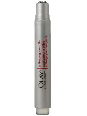 olay depuffing eye roller review