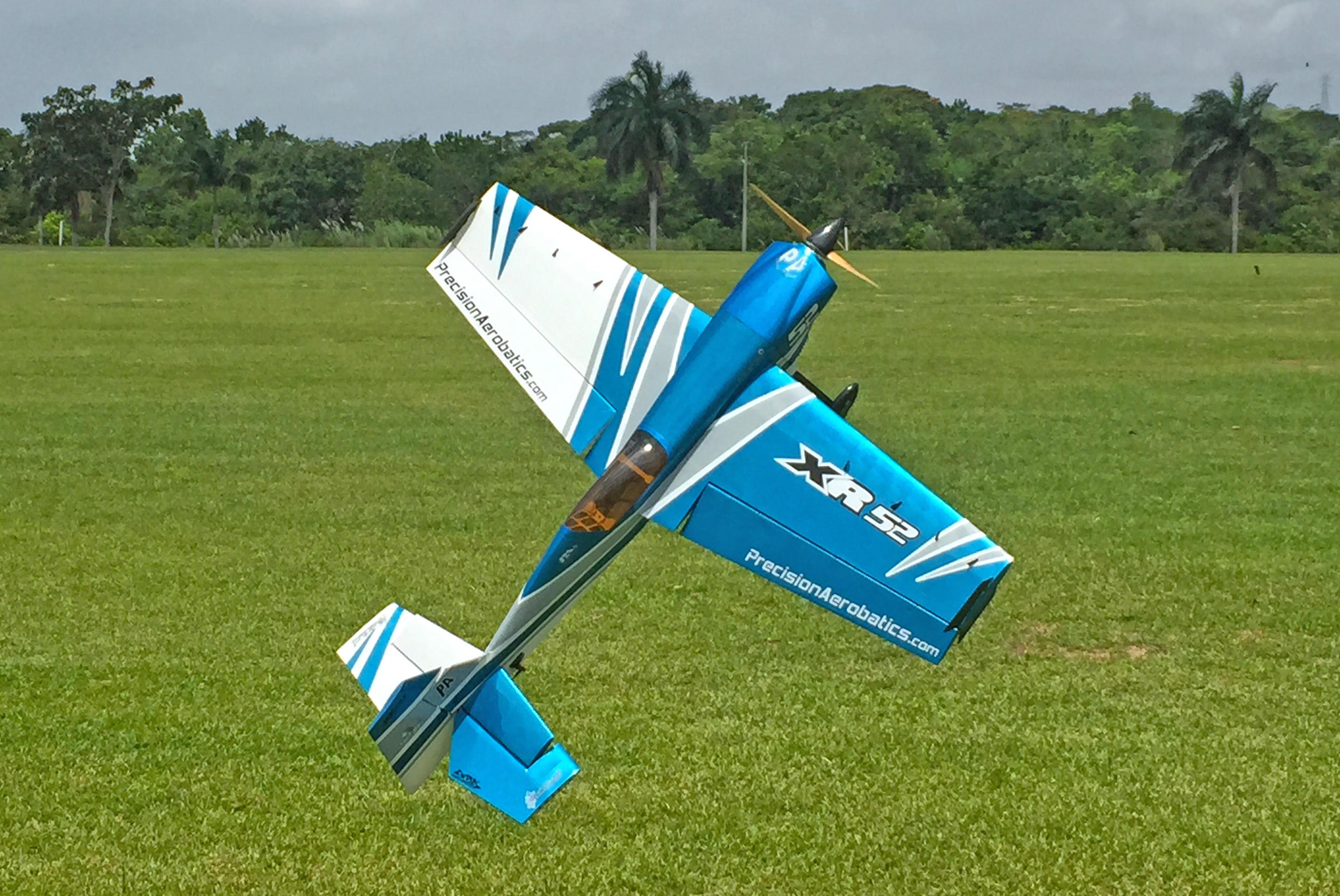 precision aerobatics xr 52 review