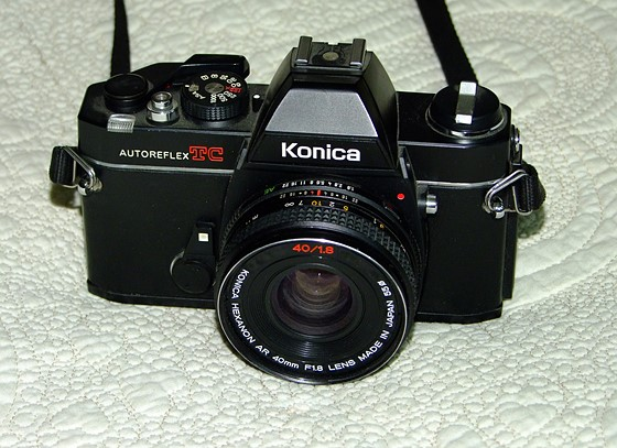 konica hexanon 40mm f1 8 review