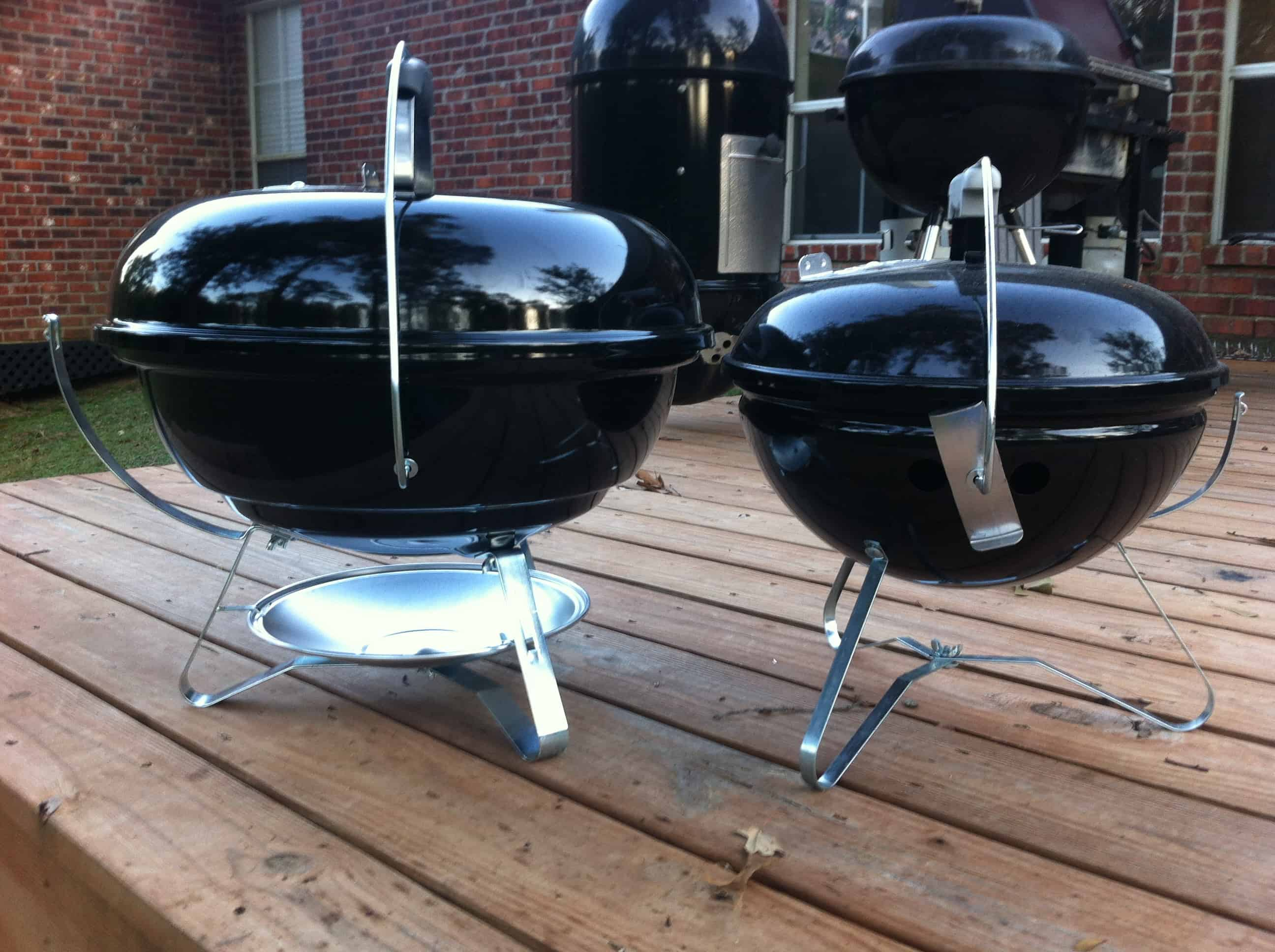 weber smokey joe bbq review