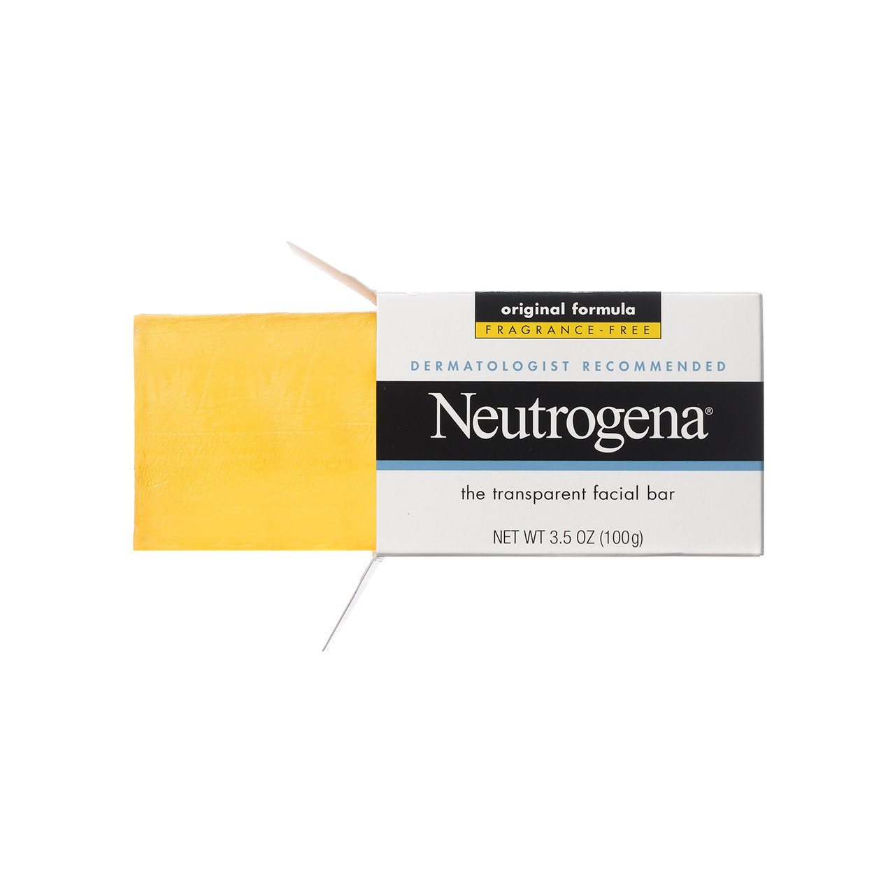 neutrogena face soap bar review